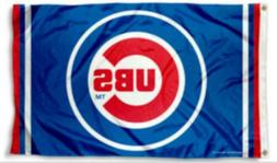 Chicago Cubs Baseball Flag 3x5 Banner New Fast USA Shipping
