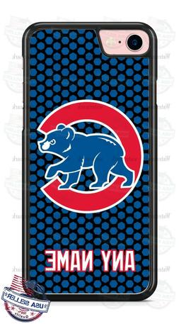 Chicago Cubs Baseball Logo Tread Phone Case Cover For iPhone