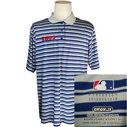 Chicago Cubs~Baseball~Men's XL Golf Shirt~S/S Polo~Embroider