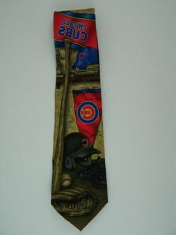 Chicago Cubs Baseball MLB Neck Tie by Eagle Wings