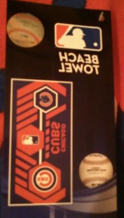 Chicago Cubs Beach Towel 30 x 60 * Brand New * MLB