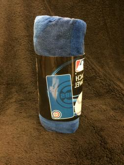 chicago cubs beach towel mlb baseball base