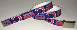 Chicago Cubs BELT Buckle Baseball Team MLB Fan Game Gear App
