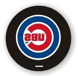 Chicago Cubs Standard Size Black Tire Cover