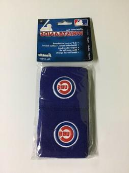 CHICAGO CUBS BLUE WRISTBANDS 2.5 INCHES BRAND NEW IN PACKAGE