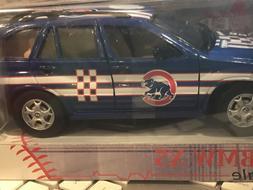 Chicago Cubs BMW X5  Fleer 1:24 Die-cast Baseball Car - NIB