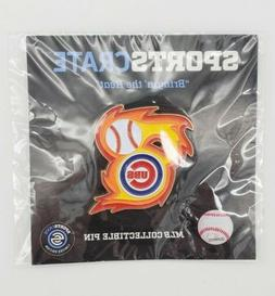 Chicago Cubs Bringin' The Heat Collectible Pin Sports Crate