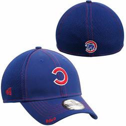 "Chicago Cubs ""C"" New Era Neo 39THIRTY Stretch Fit Flex Mesh"