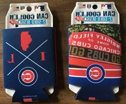 Chicago Cubs Can Coolers.  Lot Of 2-New