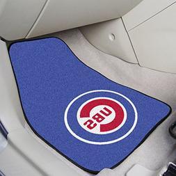"Chicago Cubs 2-piece Carpeted Car Mats 18""x27"