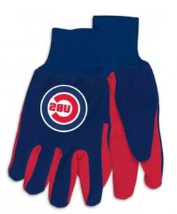 Chicago Cubs Colored Palm Utility Gloves