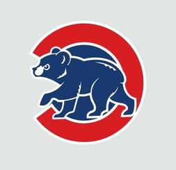 Chicago Cubs Cub MLB Baseball Full Color Logo Sports Decal S