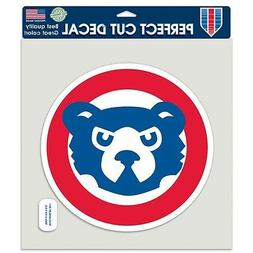 "CHICAGO CUBS CUBBIE FACE RETRO LOGO COOPERSTOWN 8""X8"" COLOR"