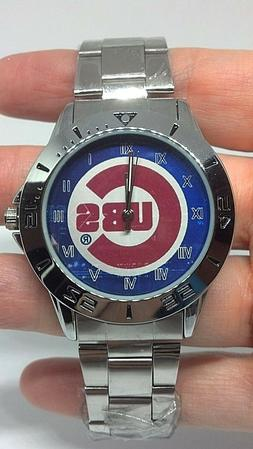 Chicago Cubs Custom Stainless Steel Analogue Unisex Watch