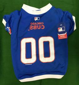 Chicago Cubs Dog Jersey MLB Baseball Pet Shirt