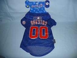Chicago Cubs  DOG/PET JERSEY  size Large   by Hunter Mfg   N