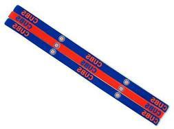 Chicago Cubs Elastic Headband 3 Pack  NFL Hair Tie Head Band