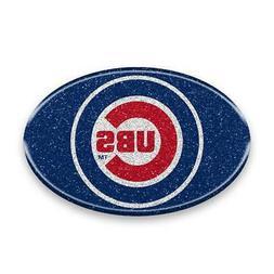 Chicago Cubs Emblem Sticker Team Flexible Bling Auto Emblem