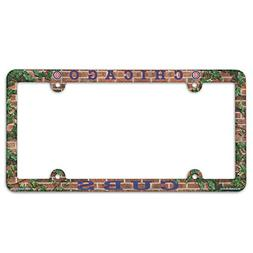 Chicago Cubs Field Plastic License Plate Frame
