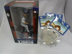 CHICAGO CUBS FOREVER  BOBBLE HEAD WITH FIVE CUBS AIR FRESHEN