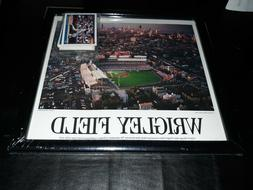 Chicago Cubs Framed Wrigley Field Baseball Stadium Photo Pic