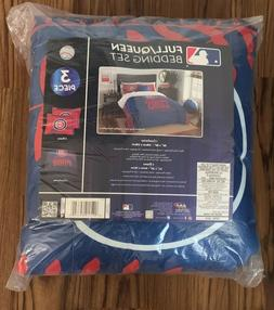 chicago cubs full queen bedding official mlb
