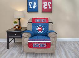CHICAGO CUBS FURNITURE PROTECTOR COVER RECLINER REVERSIBLE F