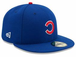 chicago cubs game 59fifty fitted hat royal