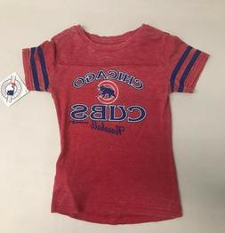 Chicago Cubs Girls Size Small 6/6X MLB Genuine Merchandise R