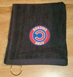 Chicago Cubs Golf Bag Golf Towel 16x18
