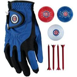 Chicago Cubs Golf Balls, Tees & Glove Set