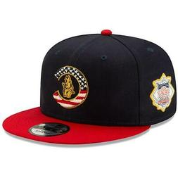 Chicago Cubs Hat 2019 Stars & Stripes 4th of July 9FIFTY Sna