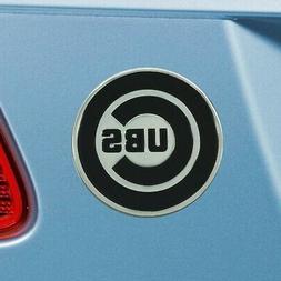 Chicago Cubs Heavy Duty Metal 3-D Chrome Auto Emblem