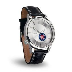 Chicago Cubs Icon Men's Watch  Jewelry Leather Stainless Ste