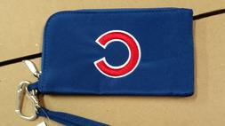 Chicago Cubs ID Wallet Wristlet Cell Phone Case Charm 14 Pur