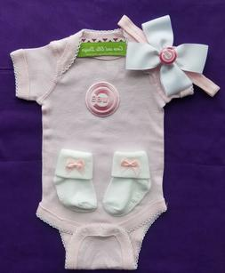 Chicago cubs infant/baby clothes girl Cubs baby shower gift