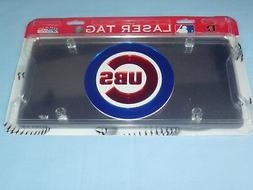 Chicago Cubs  LASER TAG  durable Acryllic Mirror INDOOR/OUTD