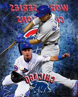 Chicago Cubs Lithograph print of Albert Almora