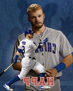 Chicago Cubs Lithograph print of  Ian Happ 2020   8 x 10