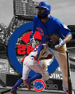 Chicago Cubs Lithograph print of Jason Heyward