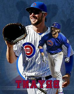 Chicago Cubs Lithograph print of  Kris Bryant  2020  8 x 10