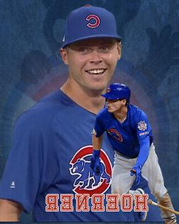 Chicago Cubs Lithograph print of  Nico Hoerner 2020  8 x 10