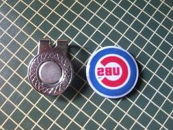 GOLF / Chicago Cubs Logo Golf Ball Marker/with Magnetic Hat