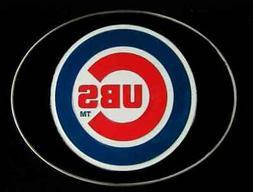CHICAGO CUBS LOGO BELT BUCKLE BUCKLES NEW!