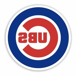 Chicago Cubs 2 PACK Die Cut Vinyl Decal Sticker - You Choose