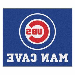 Chicago Cubs Man Cave 5' X 6' Tailgater Area Rug Floor Mat