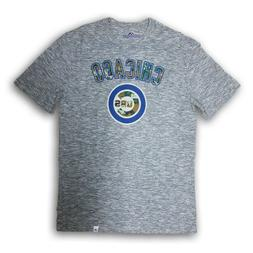 Chicago Cubs Men's Majestic Gray/Camo Short Sleeve T-shirt N