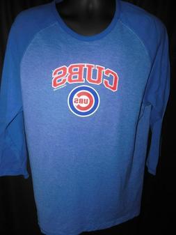 Chicago Cubs Men's MLB Apparel Long Sleeve Shirt