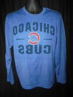 Chicago Cubs Men's MLB Apparel Long Sleeve Shirt Medium