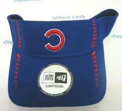 Chicago Cubs Men's New Era Speed Tech Visor Hat